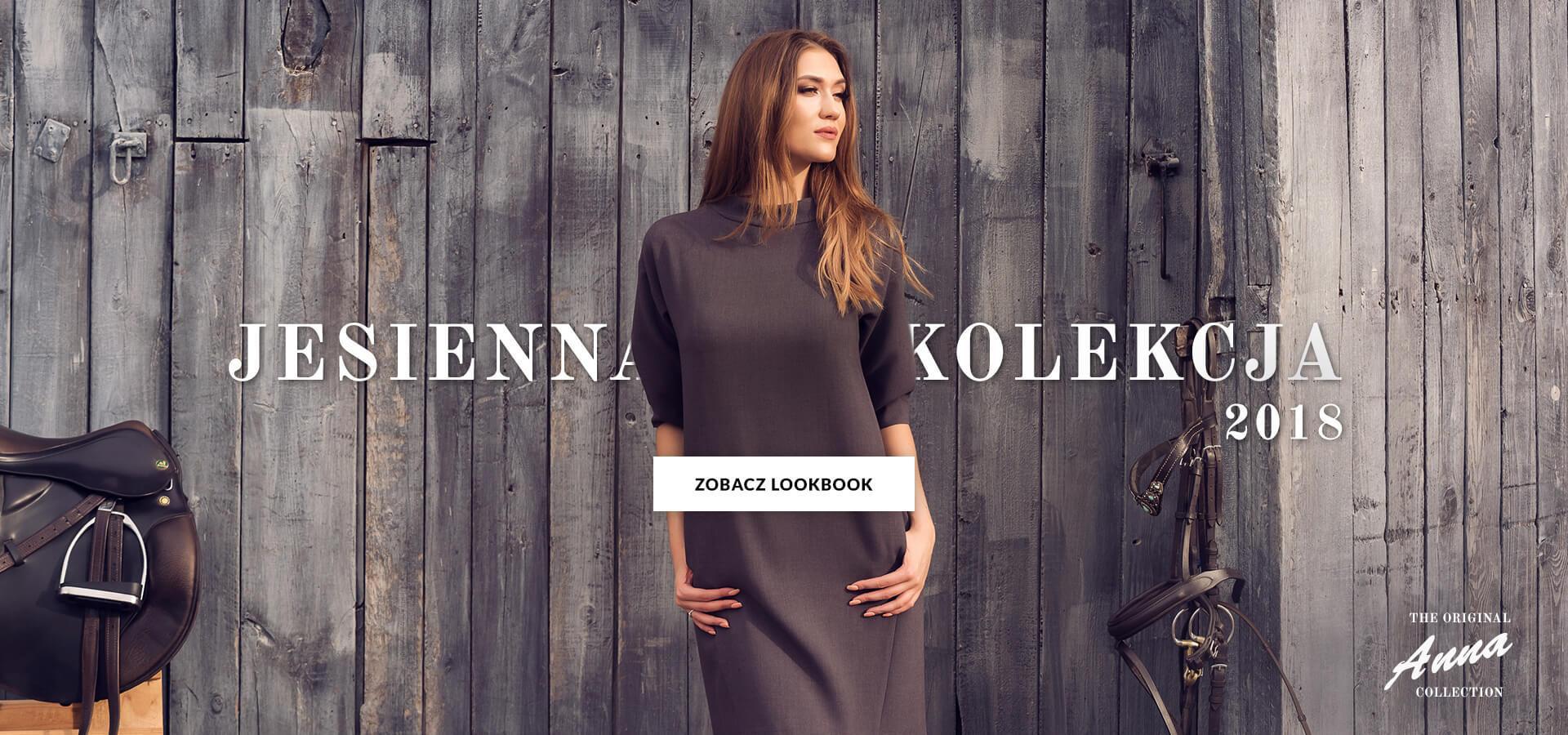 Jesienna kolekcja modnych sukienek AnnaFashion