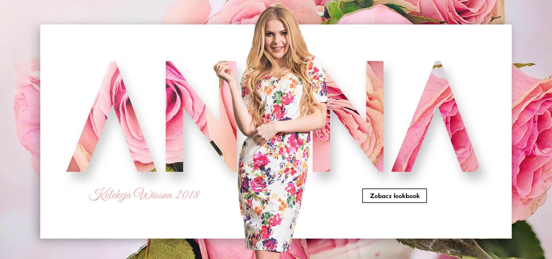 Wiosenna kolekcja sukienek AnnaFashion