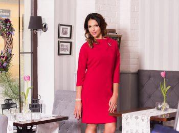 Czerwona sukienka Anna Fashion