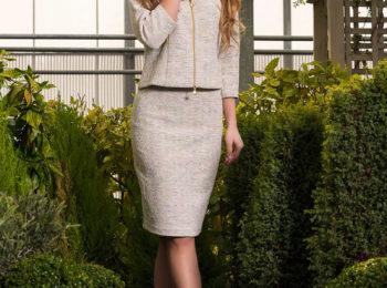 Biznesowa sukienka z kolekcji wiosna 2018