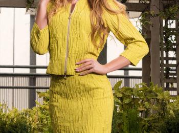 Biznesowy strój z kolekcji wiosna 2018