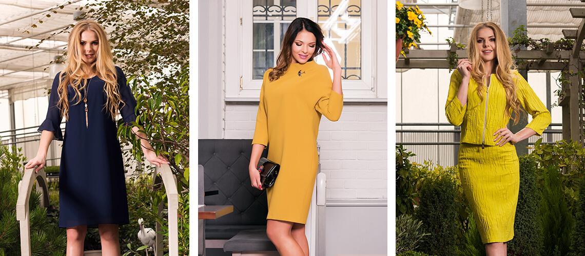 Klasyczne sukienki z kolekcji zimowej oraz wiosennej