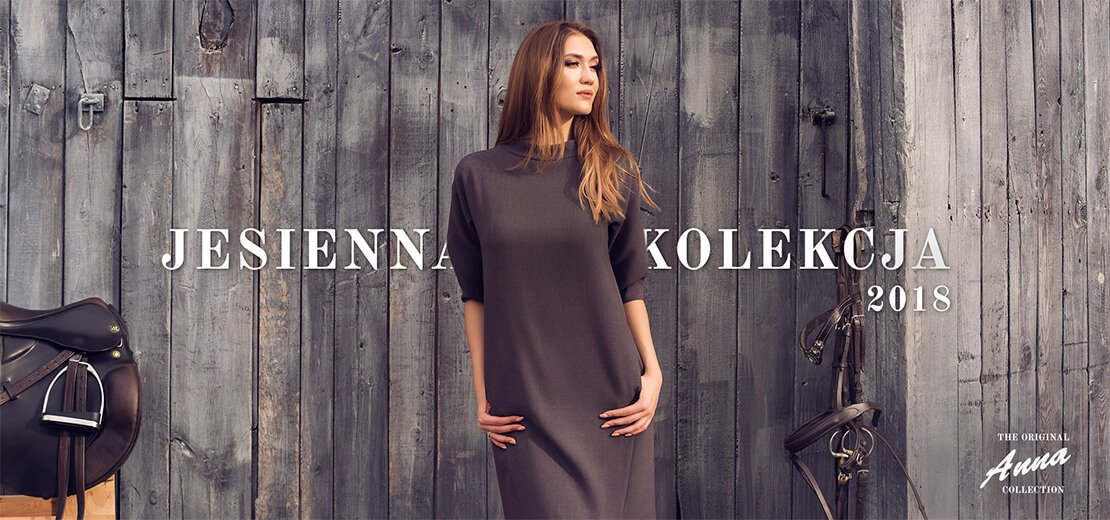 Jesień 2018 - modne sukienki - lookbook