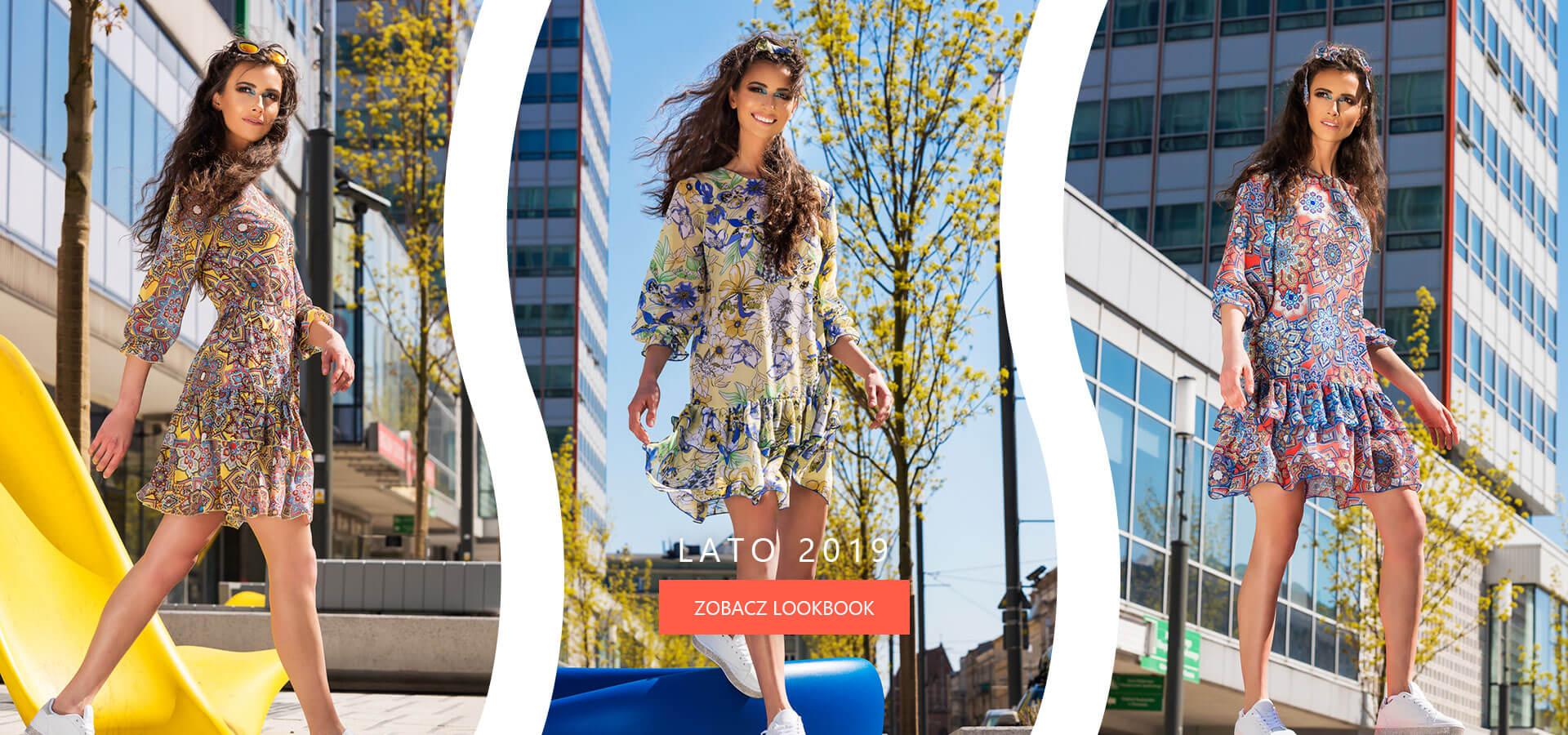 Letnia kolekcja 2019 modnych sukienek damskich AnnaFashion